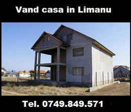 Vand casa in Limanu