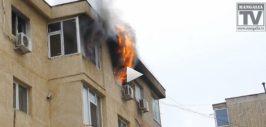 incendiu apartament Mangalia