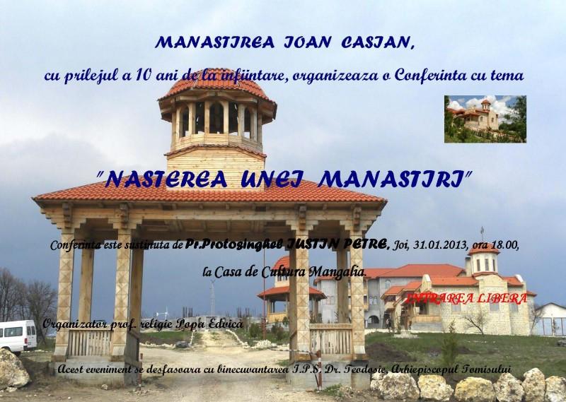 manastirea Ioan Casian