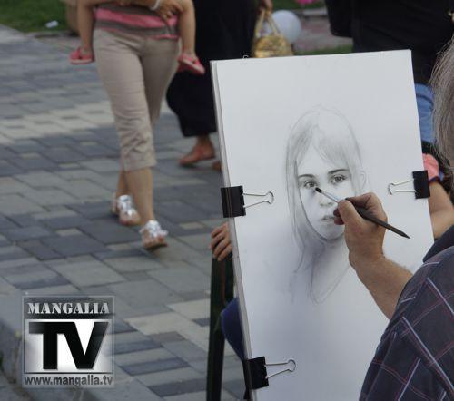 artisti sevalet portret Mangalia Neptun
