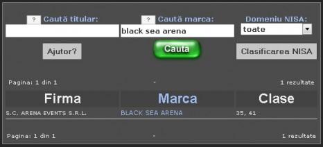 black se arena