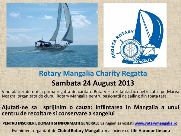 Afis Rotary Mangalia Charity Regatta