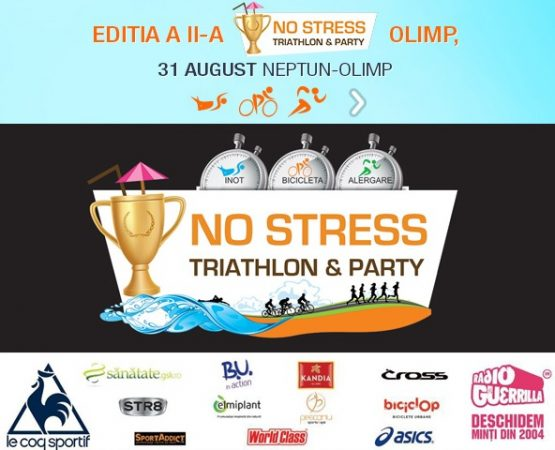 No Stress Triathlon&Party