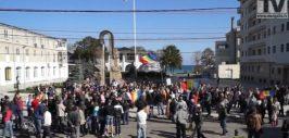 protest Mangalia fracturare