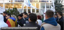 protest Mangalia
