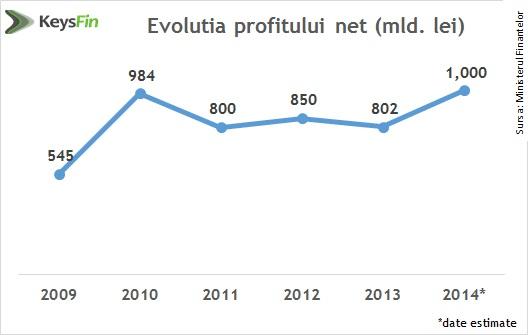 evolutia profitului