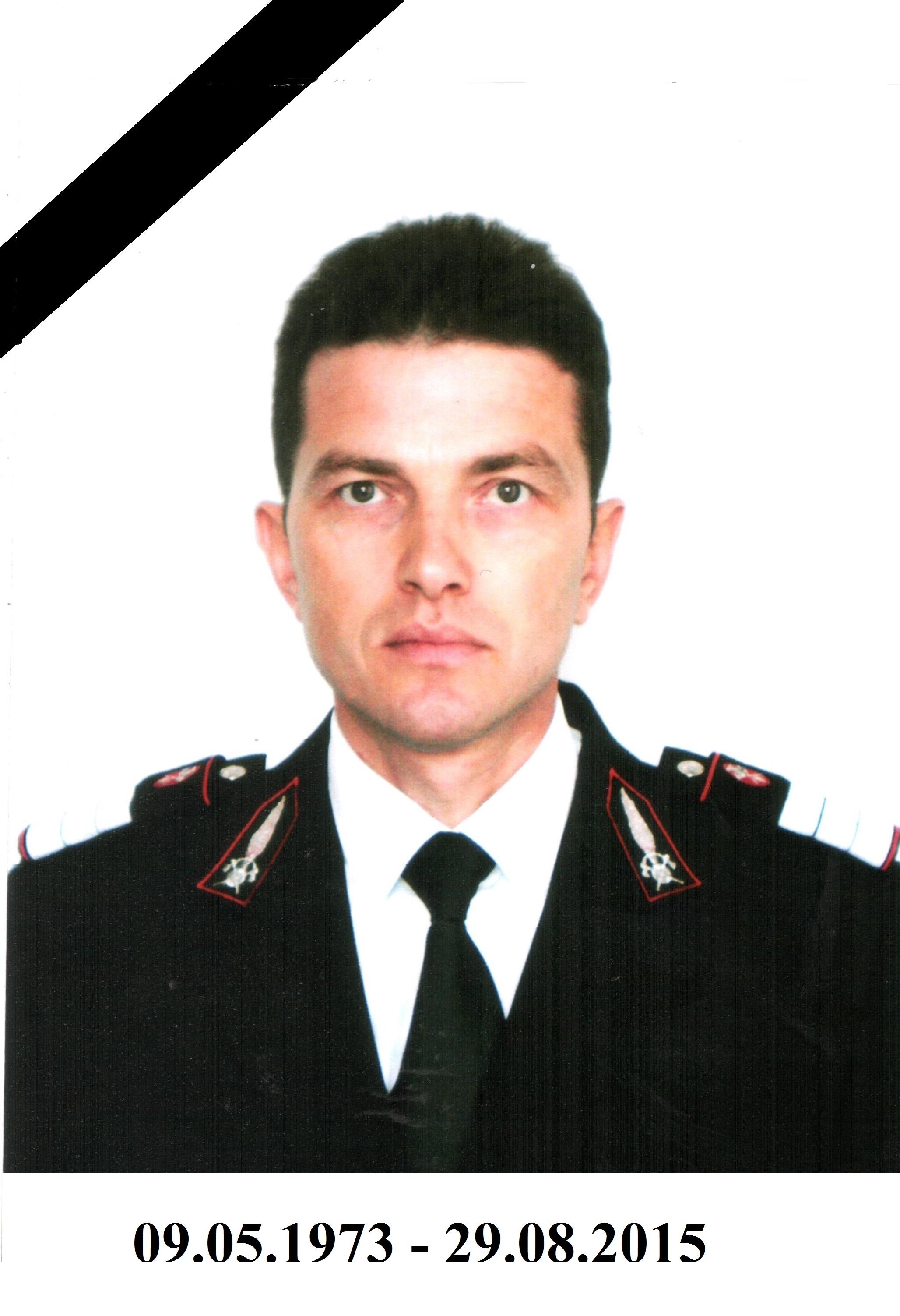 Plutonier adjutant Fripis Daniel Marius