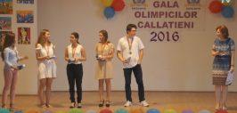 gala olimpicilor callatieni
