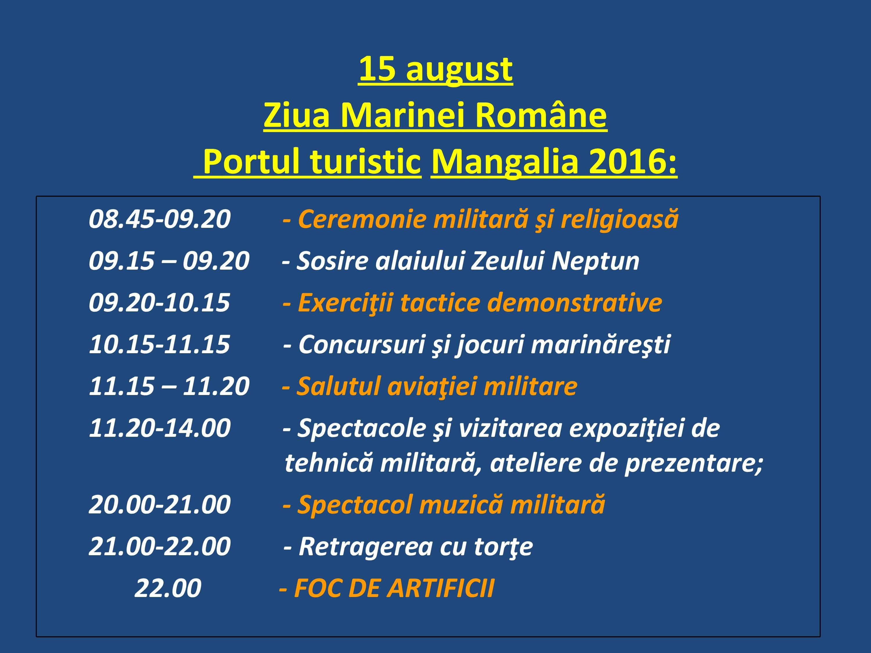Program ziua marinei -7